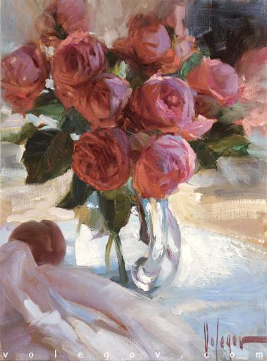 Best Acrylic Painting Of The Rose