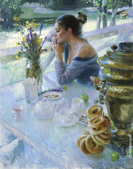 Beautiful Feminine Art Listening-chopin-painting_565_3037